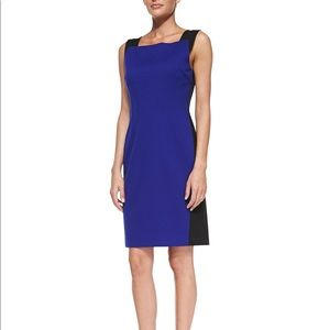 T Tahari Square Neck Dress, new with tags sz 2
